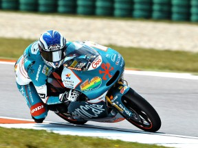 Nico Terol in action at Assen