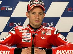 Assen 2010 - MotoGP - QP - Interview - Casey Stoner