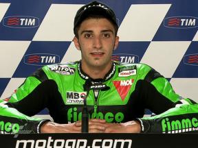 Assen 2010 - Moto2 - QP - Interview - Andrea Iannone