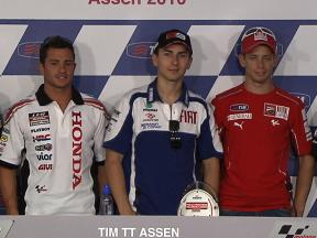 TIM TT Assen Post-qualifying Press Conference