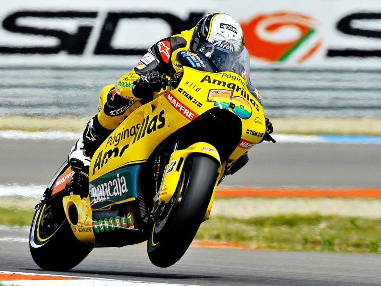 Héctor Barberá on track at Assen