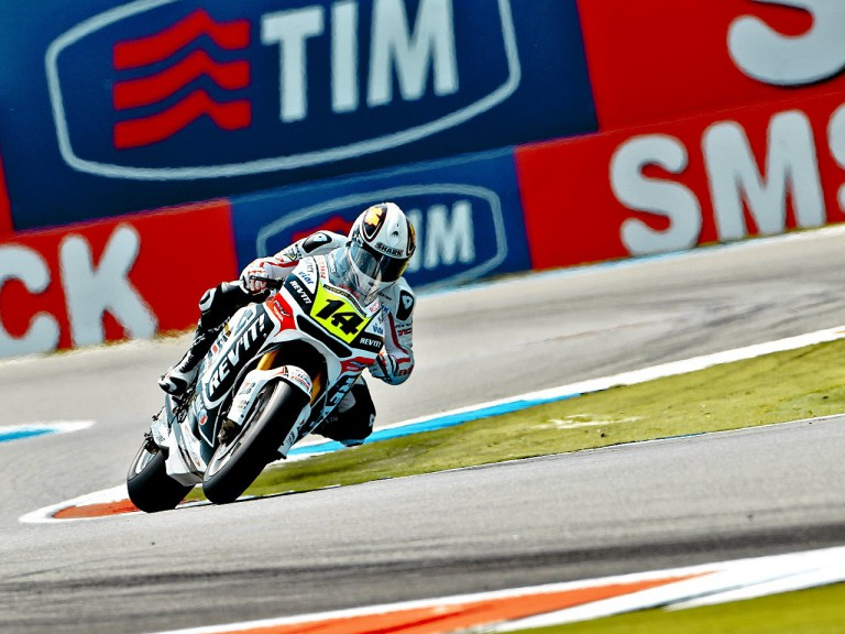 Randy de Puniet on track at Assen