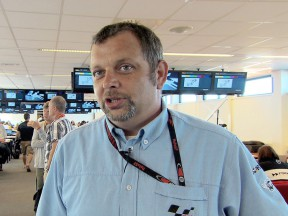 motogp.com live commentator Ian Wheeler