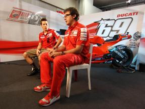 Nicky Hayden and Juan Martinez on the role of electronics
