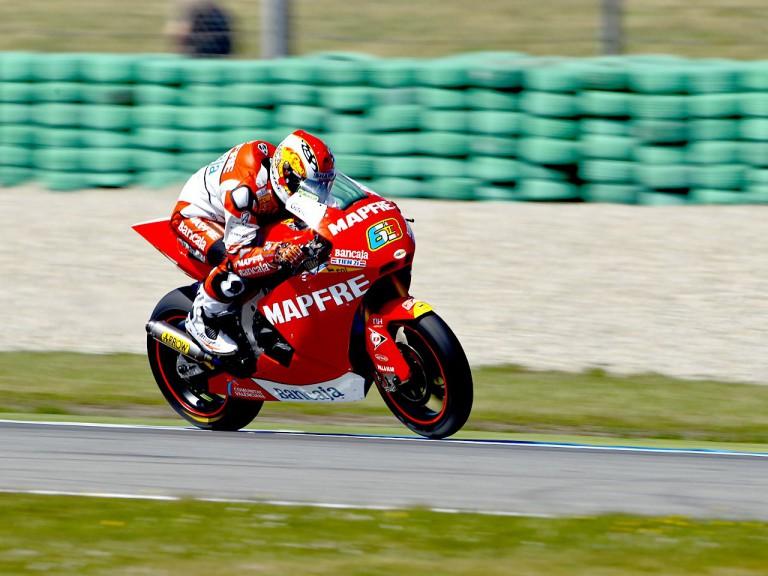 Mike di Meglio on track
