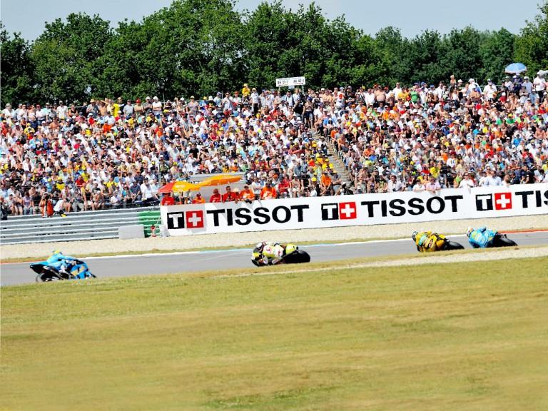 MotoGP group action in Assen