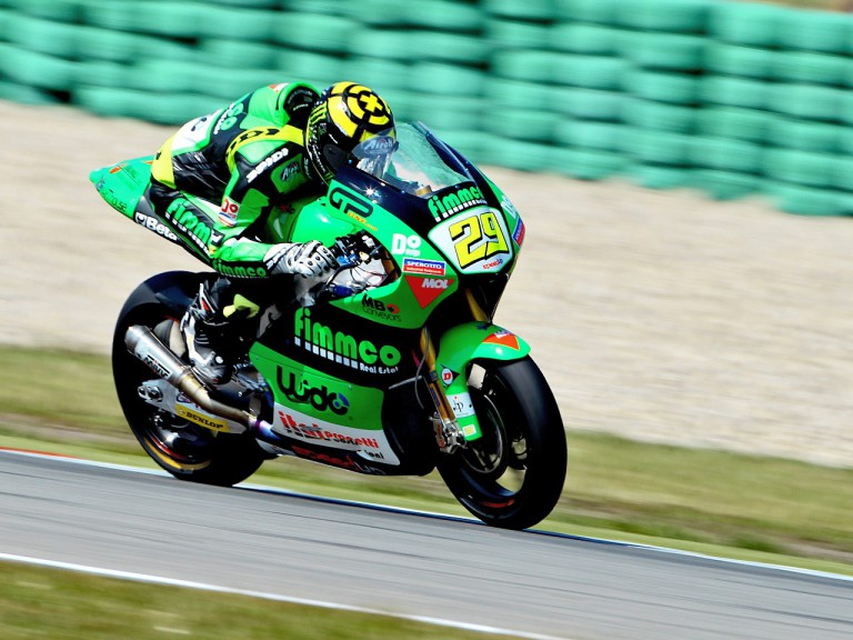 Andrea Iannone on track at Assen