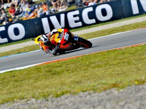Dani Pedrosa on track at Assen