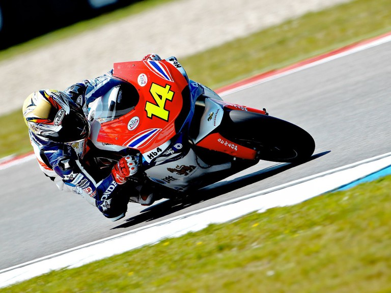Ratthapark Wilairot on track at Assen