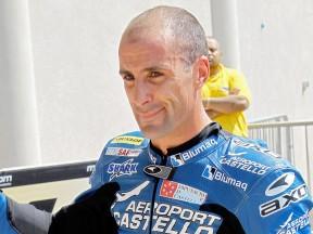 Moto2 rider Alex Debon