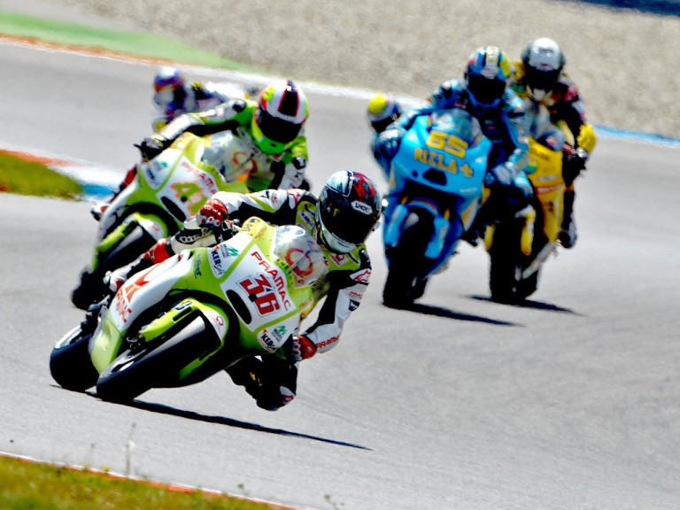 Pramac´s Kallio and Espargaró in action at Assen