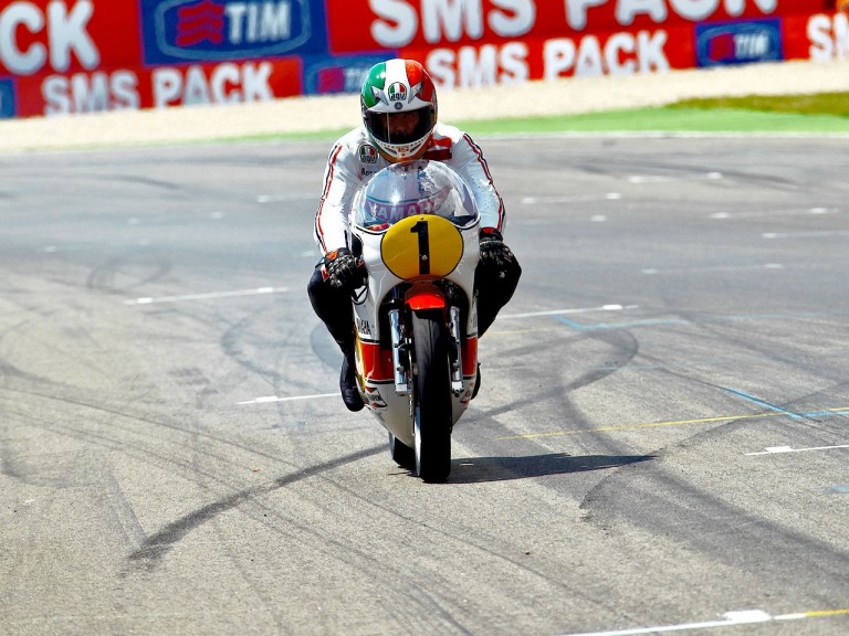 Giacomo Agostini back on track at 80th TT Assen