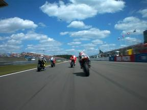 Lap one of the TIM TT Assen OnBoard with De Puniet
