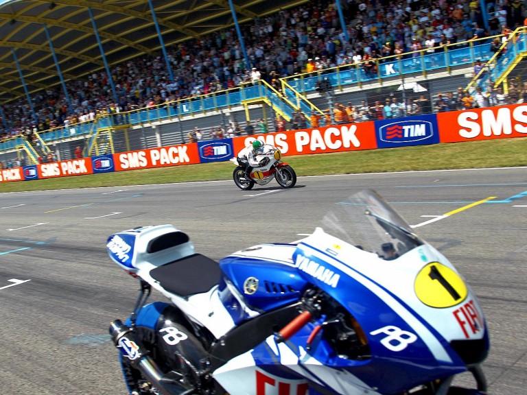 Giacomo Agostini back on track at 80th TT Assen