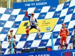 MotoGP podium in Assen