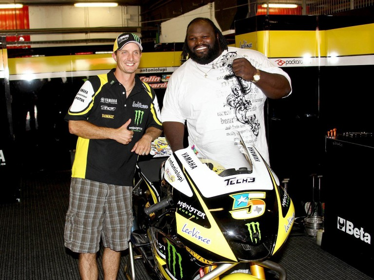 Colin Edwards and Mark Henry