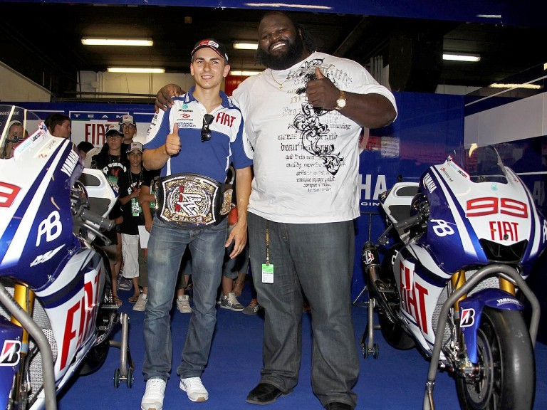 Jorge Lorenzo and Mark Henry