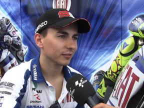 Lorenzo finds immediate comfort