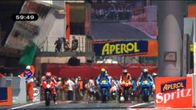 The Gran Premi Aperol de Catalunya got underway on Friday afternoon and the Fiat Yamaha rider was quickest. Casey Stoner and Dani Pedrosa were inside the top three in soaring temperatures.