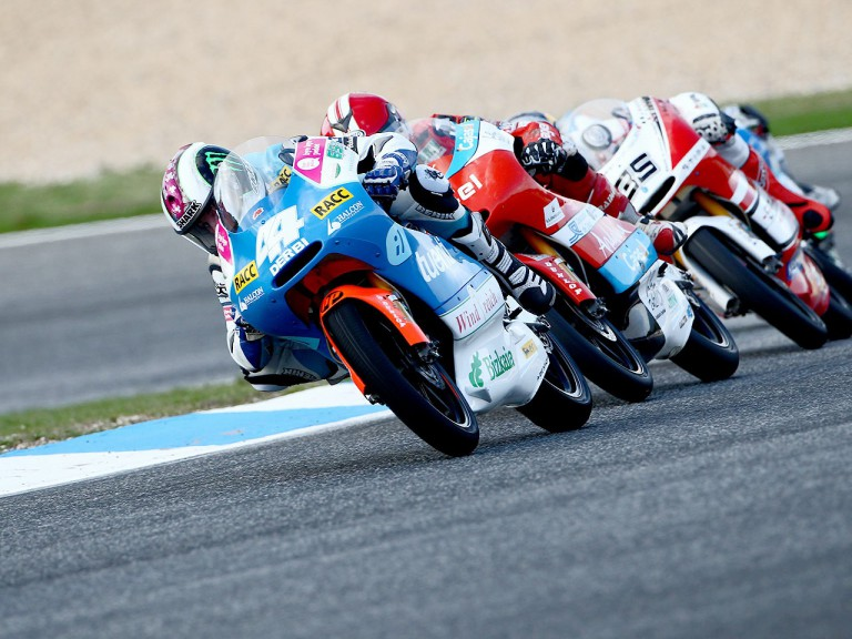 Pol Espargaró in action at Estoril