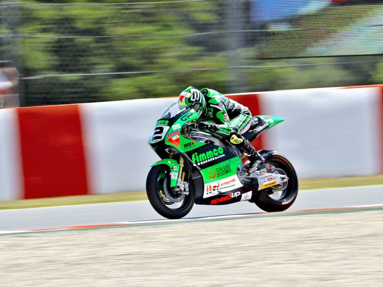 Gabor Talmacsi in action at the Catalunya Circuit