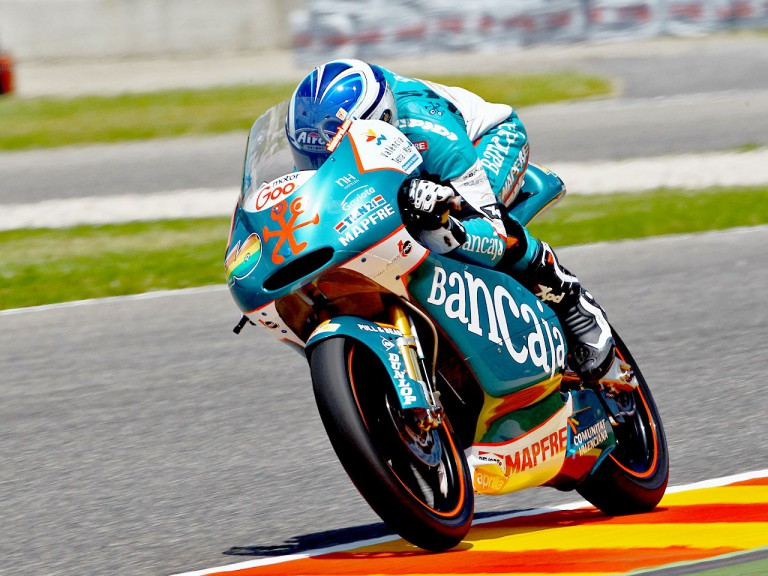 Nico Terol in action in Mugello