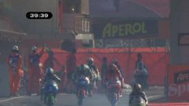 Der Red Bull Ajo Motorsport war erneut Schnellster im Training und ließ Nico Terol in FP2 der 125cc hinter sich.