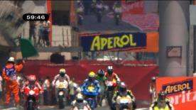 Der Fiat Yamaha Fahrer sicherte sich die dritte Pole in Folge in einer spannenden Session, in der sich die Reihenfolge häufig änderte. Casey Stoner und Randy de Puniet stehen ebenfalls in der ersten Reihe zum Gran Premi Aperol de Catalunya.