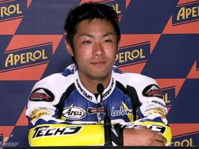 Catalunya 2010 - Moto2 - QP - Interview - Yuki Takahashi