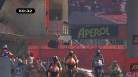 Der Fiat Yamaha-Fahrer führte die Zeitenliste auch nach dem zweiten Training in Katalonien an, vor Dani Pedrosa und Casey Stoner.