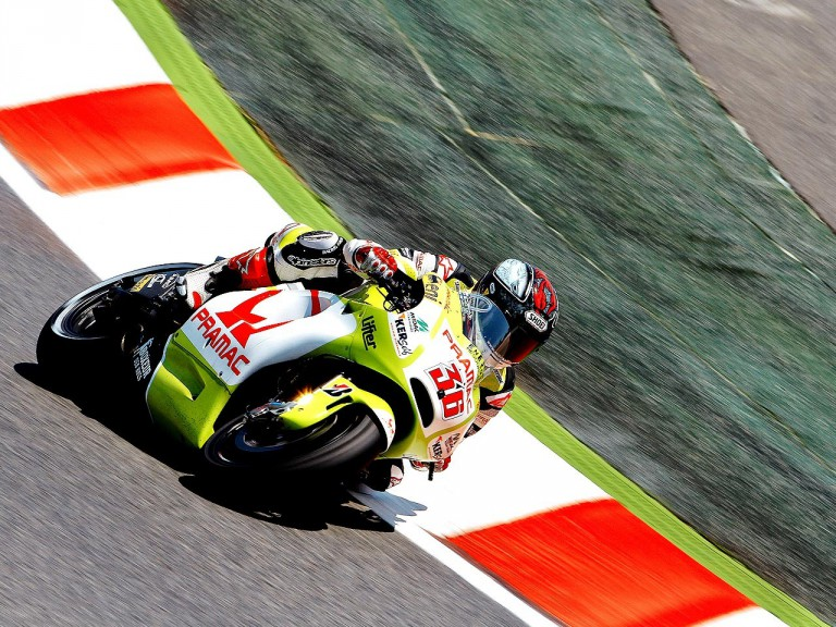 Mika Kallio in action at the Catalunya Circuit