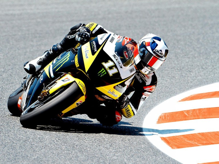 Ben Spies in action at the Catalunya Circuit