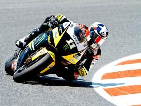 Ben Spies in action at the Catalunya Circuit