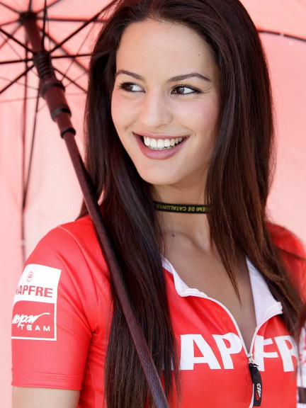 Paddock Girl at the Gran Premi Aperol de Catalunya