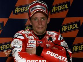 Catalunya 2010 - MotoGP - Race - Interview - Casey Stoner