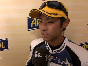 Takahashi on securing first Moto2 victory