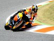 Dani Pedrosa in action at the Catalunya Circuit