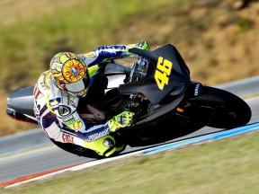 Valentino Rossi tests at Brno ahead of MotoGP comeback