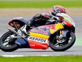 Marc Marquez in action at Phillip Island
