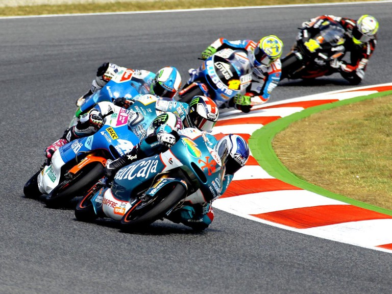 125cc Group on track