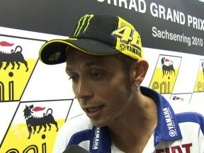Rossi ready for action after six weeks out