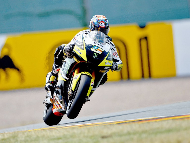 Colin Edwards on track in Sachsenring