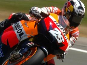 Sachsenring 2010 - MotoGP - FP1 - highlights