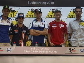 2010 German GP Pre-event Press Conference