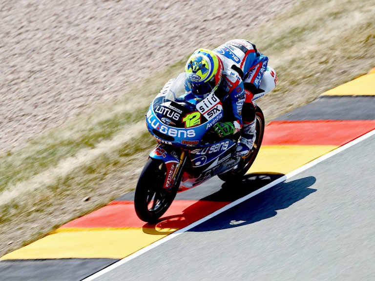 Esteve Rabat in action in Sachsenring