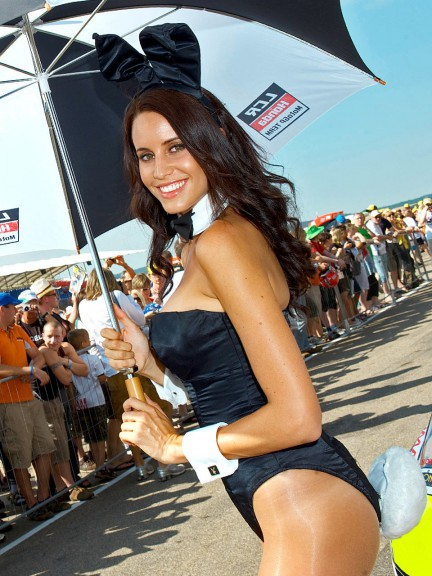 Paddock Girl at the eni Motorrad GP Deutschland