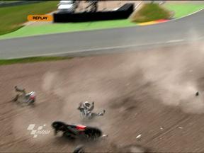 Sachsenring 2010 - MotoGP - QP - Action - Randy De Puniet - Crash
