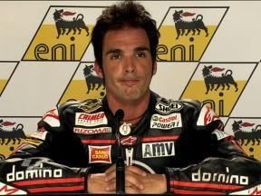 Sachsenring 2010 - Moto2 - QP - Interview - Toni Elías