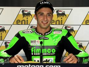 Sachsenring 2010 - Moto2 - QP - Interview - Andrea Iannone