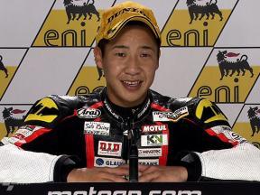 Sachsenring 2010 - 125cc - Race - Interview - Tomoyoshi Koyama